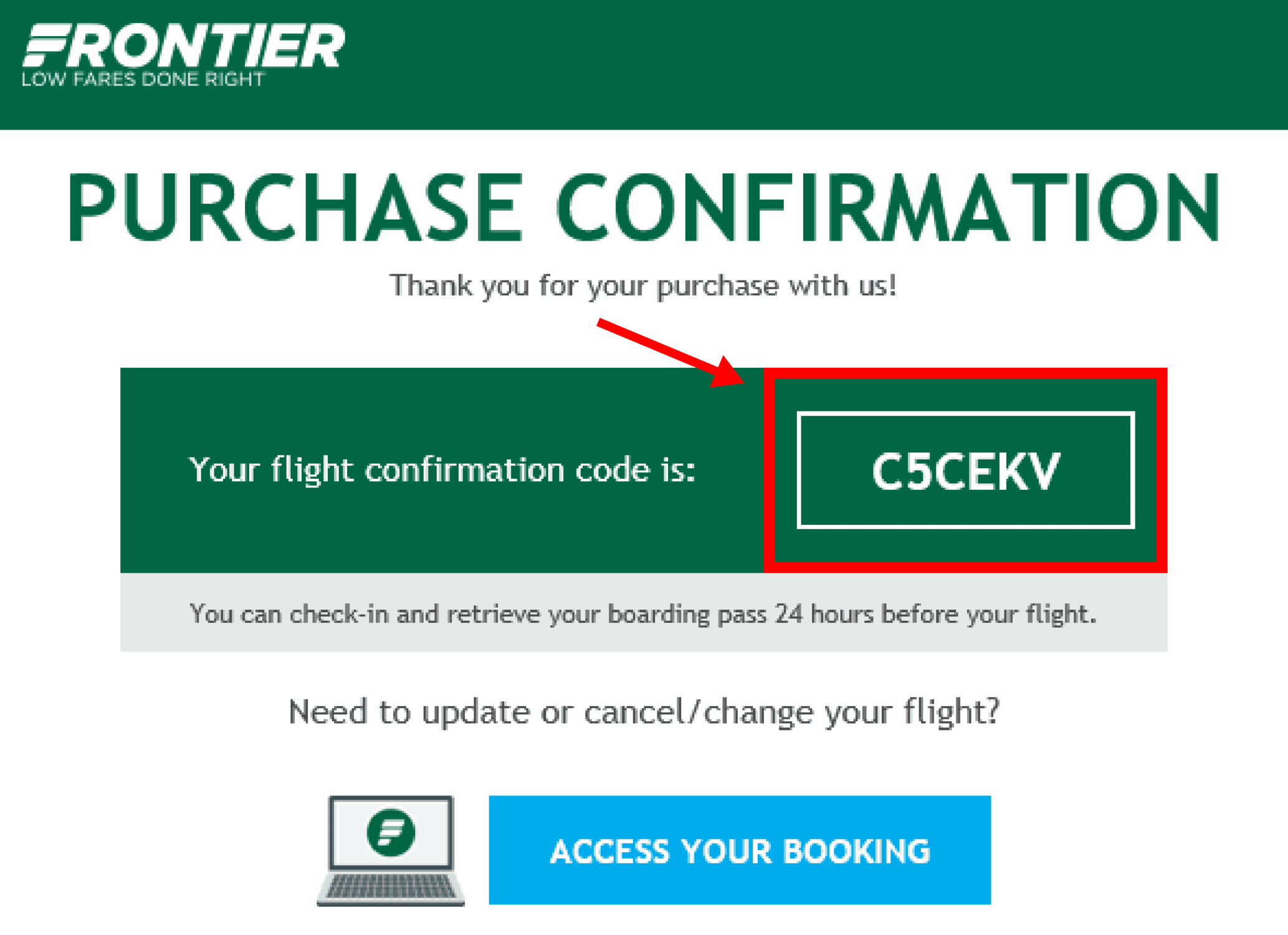 What is a Flight Confirmation Number?